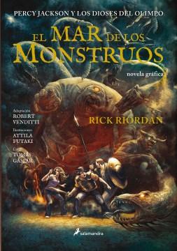 El mar de los monstruos : novel gráfica cover image