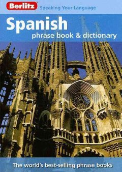 Spanish phrase book & dictionary cover image