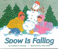 Cover art for Snow is falling