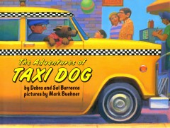 Cover art for The adventures of taxi dog