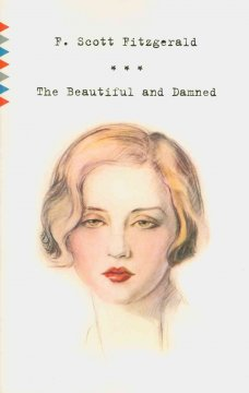 Cover art for The beautiful and damned