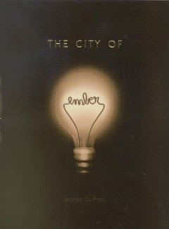 Cover art for The city of Ember