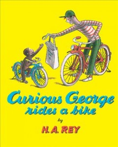 Cover art for Curious George rides a bike