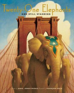 Cover art for Twenty-one elephants and still standing