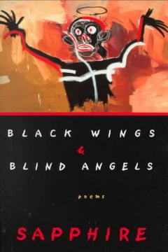 Cover art for Black wings & blind angels : poems
