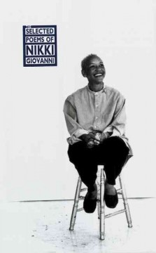 Cover art for The selected poems of Nikki Giovanni.