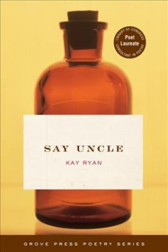 Cover art for Say uncle : poems