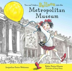 Cover art for You can't take a balloon into the Metropolitan Museum