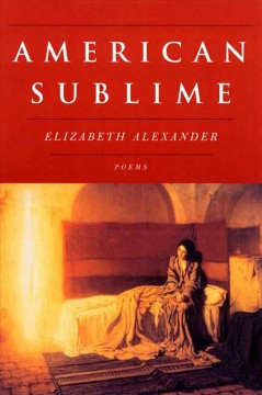 Cover art for American sublime : poems