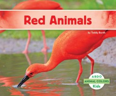Cover art for Red animals