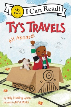 Cover art for Ty's travels [electronic resource] : All aboard!.