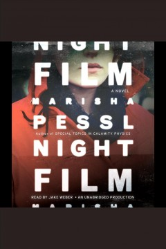 Cover art for Night film
