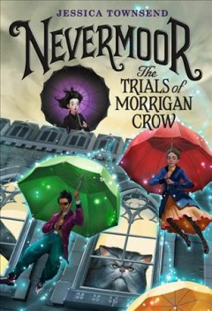 Cover art for The trials of Morrigan Crow