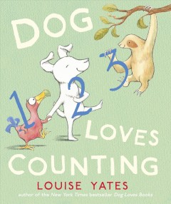 Cover art for Dog loves counting