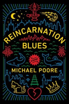 Cover art for Reincarnation blues : a novel