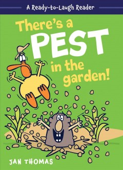 Cover art for There's a pest in the garden!