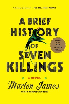 Cover art for A brief history of seven killings :