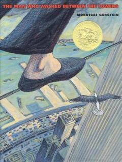 Cover art for The man who walked between the towers