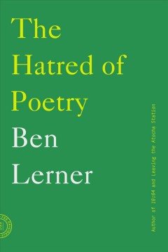 Cover art for The hatred of poetry