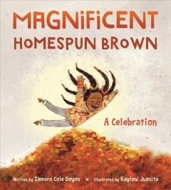Cover art for Magnificent homespun brown : a celebration