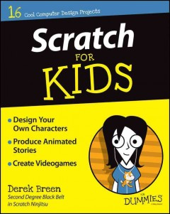 Cover art for Scratch for kids for dummies