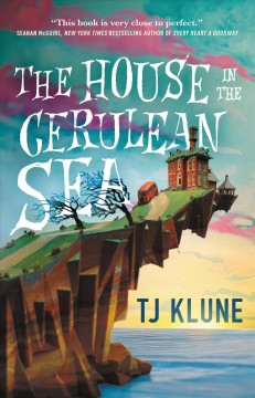 Cover art for The house in the cerulean sea
