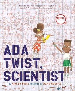Cover art for Ada Twist, scientist