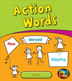 Cover art for Action words : verbs