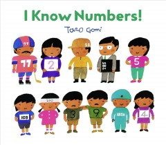 Cover art for I know numbers!