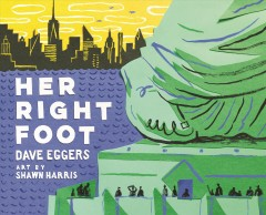 Cover art for Her right foot