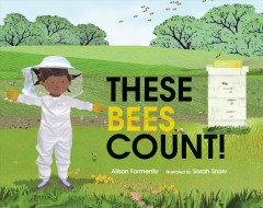 Cover art for These bees count!