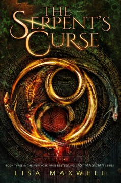 Cover art for The serpent's curse