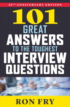Cover art for 101 great answers to the toughest interview questions