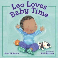 Cover art for Leo loves baby time