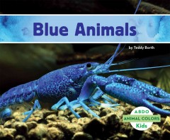 Cover art for Blue animals