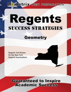 Cover art for Regents Success Strategies Geometry Study Guide : Regents Test Review for the New York Regents Examinations.