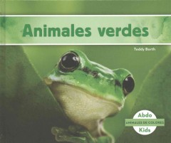 Cover art for Animales verdes
