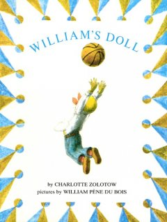 Book jacket for William's doll