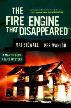 The fire engine that disappeared a Martin Beck mystery