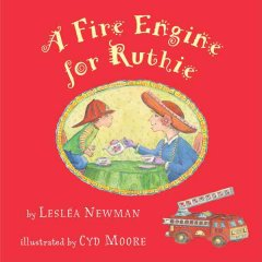 Book jacket for A fire engine for Ruthie