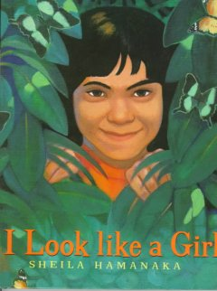 Book jacket for I look like a girl