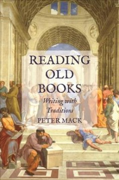 Reading old books : writing with traditions