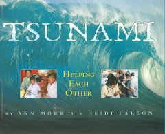 Book jacket for Tsunami : helping each other