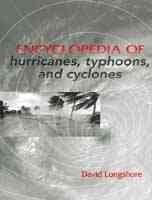 Book jacket for Encyclopedia of hurricanes, typhoons, and cyclones