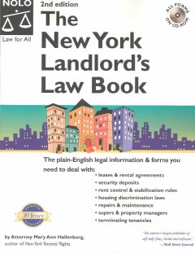 New York landlord's law book /