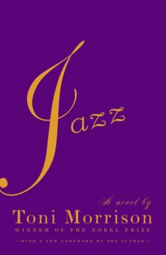 Book jacket for Jazz : a novel