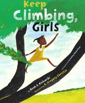 Book jacket for Keep climbing, girls