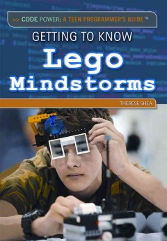 Book jacket for Getting to know Lego Mindstorms