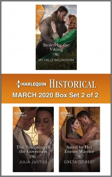 Harlequin hstorical March 2020. Box Set 2 of 2