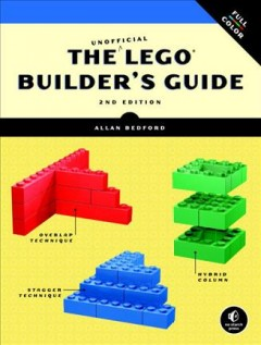 Book jacket for The unofficial LEGO builder's guide